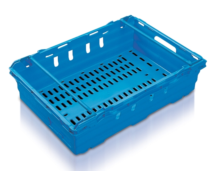 MaxiNest 28L Storage Container (Blue with Blue Bar)