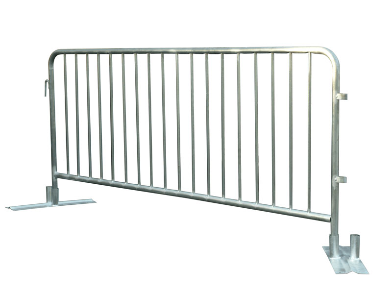 Attached Leg Metal Crowd Control Barriers