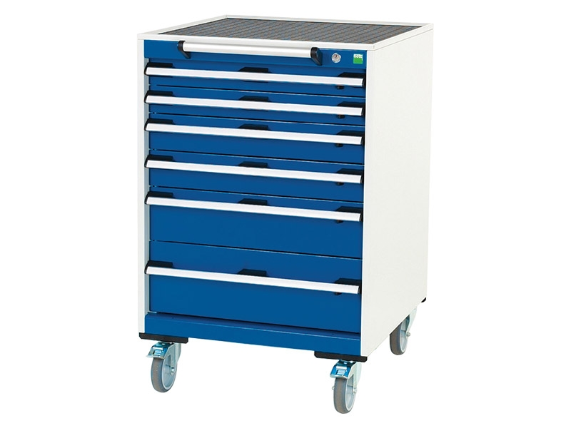 Mobile 6 Drawer 650mm Wide Cabinet