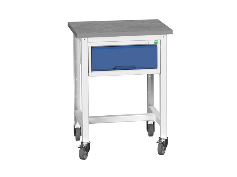 Mobile Storage Lino Workstand with 1 Drawer