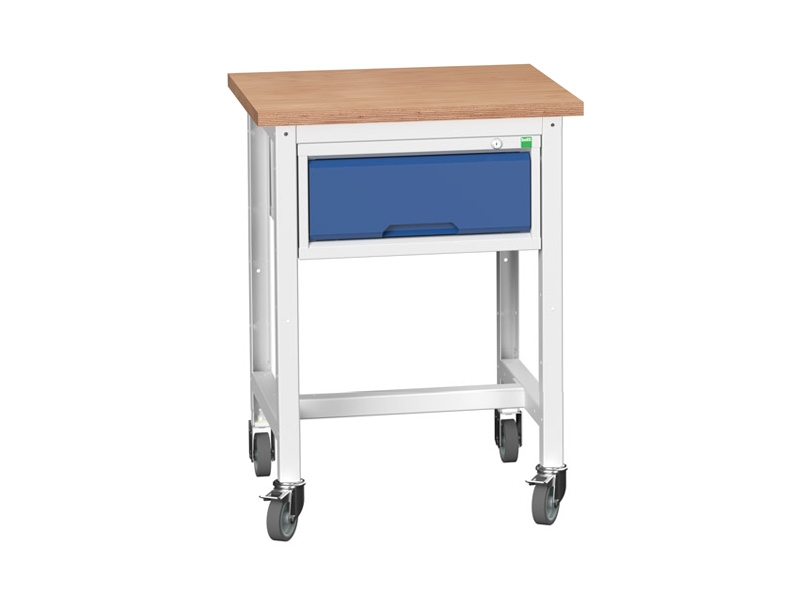 Mobile Storage Multiplex Workstand with 1 Drawer