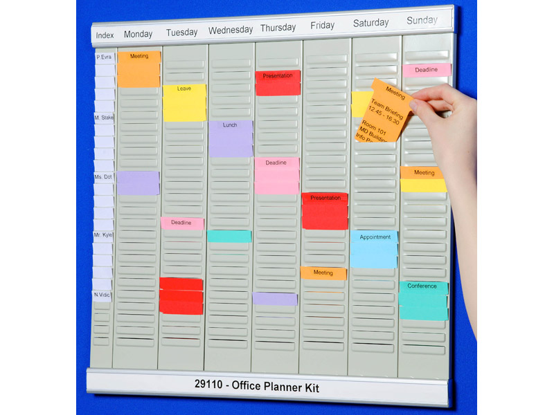 Buy office planner kit free delivery for Planner co