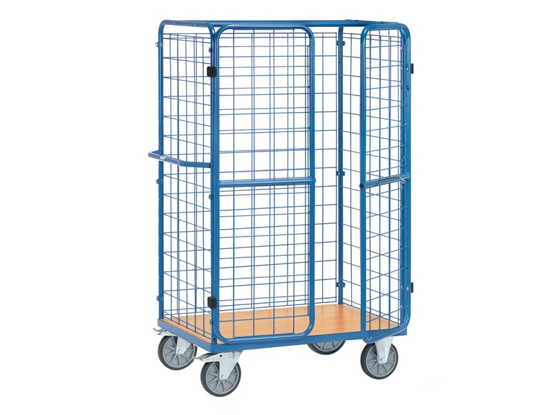 Parcel Cart With Doors 1800mm