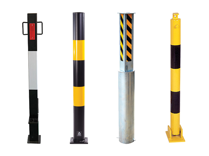 Folding Parking Posts & Barriers