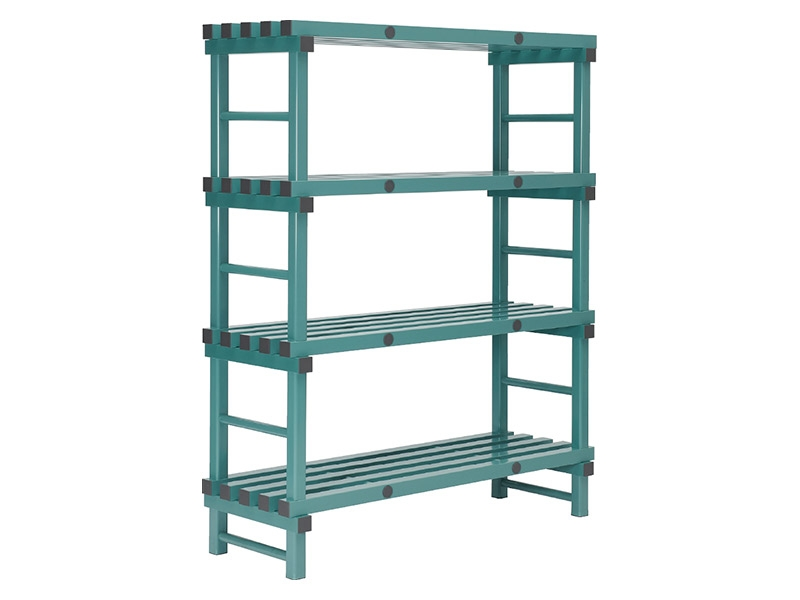 Plastic Euro Shelving Single Bay