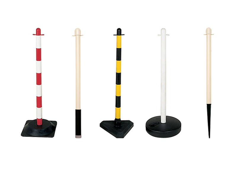 Plastic Posts and Chain Barriers