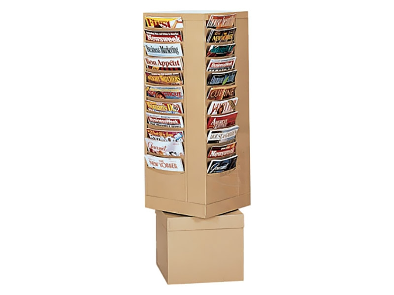 Rotary Literature Rack 44 Pockets