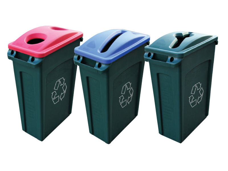 Rubbermaid office recycling bins - Home depot recycling containers ...