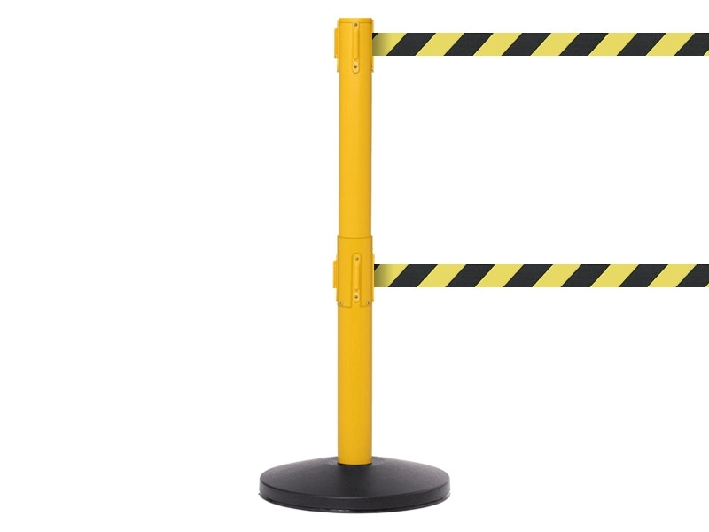Safety Belt Barriers - Twin Tape