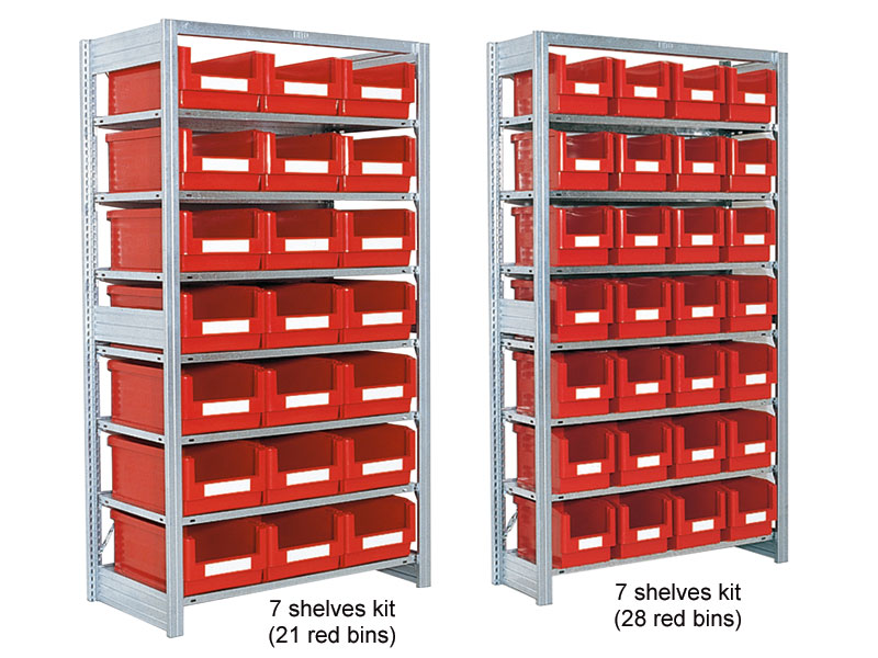 Shelving Container Kit