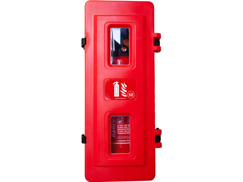 Fire Extinguisher Stand   Single Polyethylene