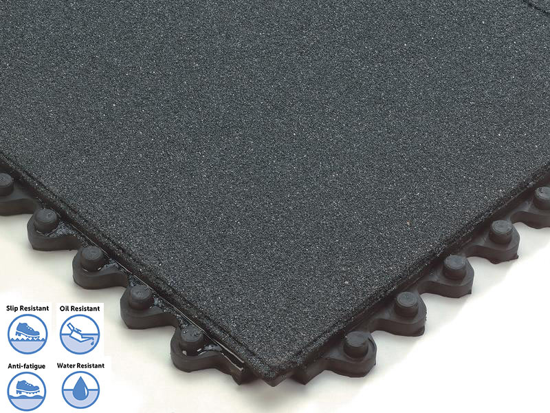 Slip Resistant Modular Anti-Fatigue Matting