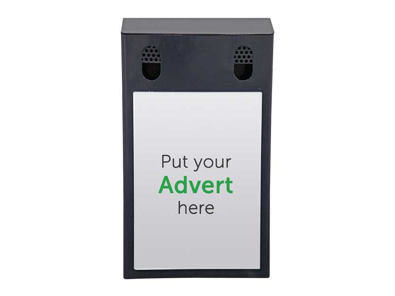 Advertising Smoking Bin