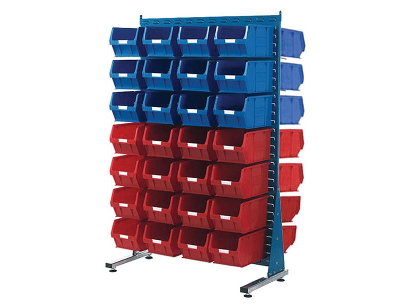 Spacemaster Double Sided Rack with 56 x Size 5 Bins