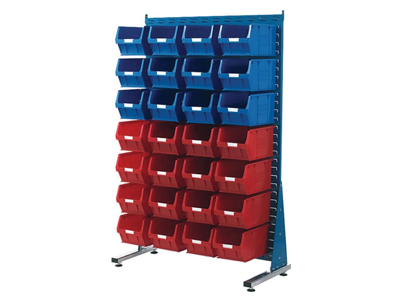 Spacemaster Single Sided Rack with 28 x Size 5 Bins