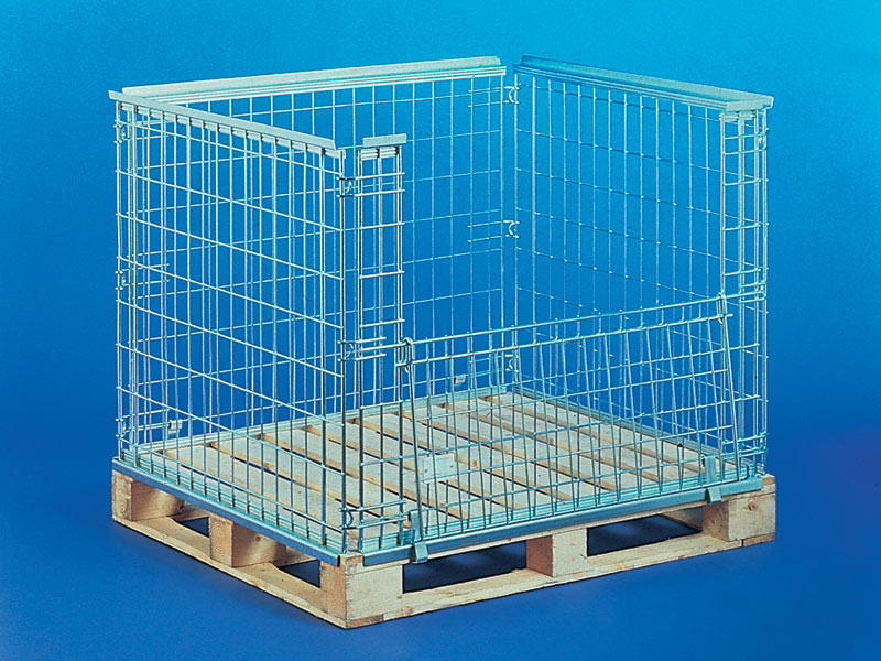 Metal stillages and pallet cages