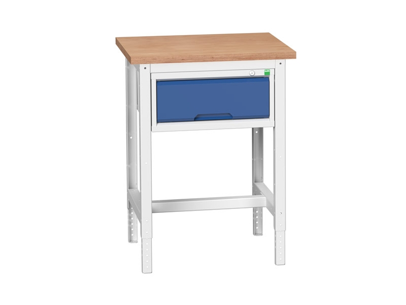 Static Storage Multiplex Workstand with 1 Drawer