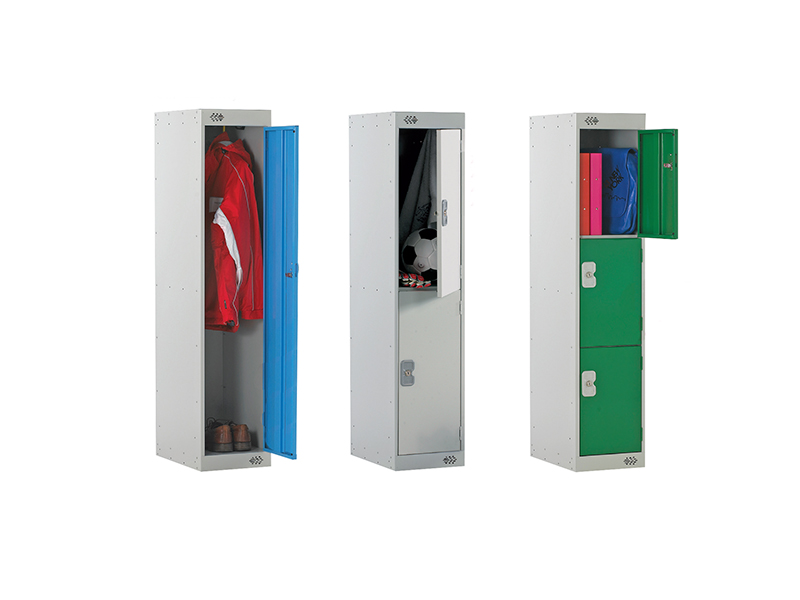 Three Quarter Height School Lockers