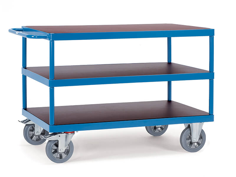 3 Shelf Table Top 1200kg Heavy Duty Trolley
