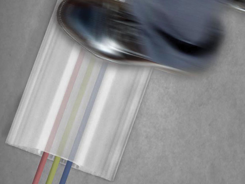 translucent internal cable protector. Black Bedroom Furniture Sets. Home Design Ideas