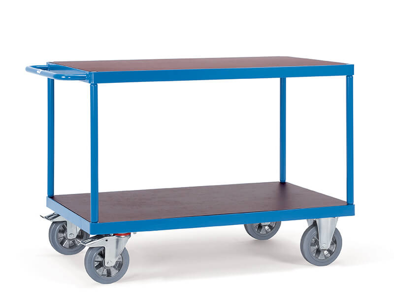 Ordinaire 2 Shelf Table Top 1200kg Heavy Duty Trolley
