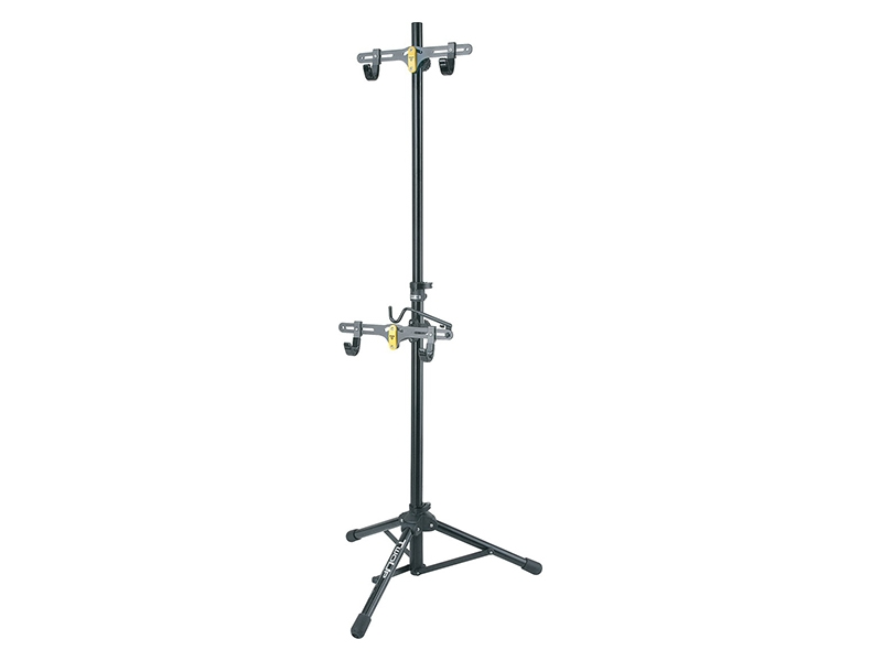 Two Up Portable Tripod Bike Stand