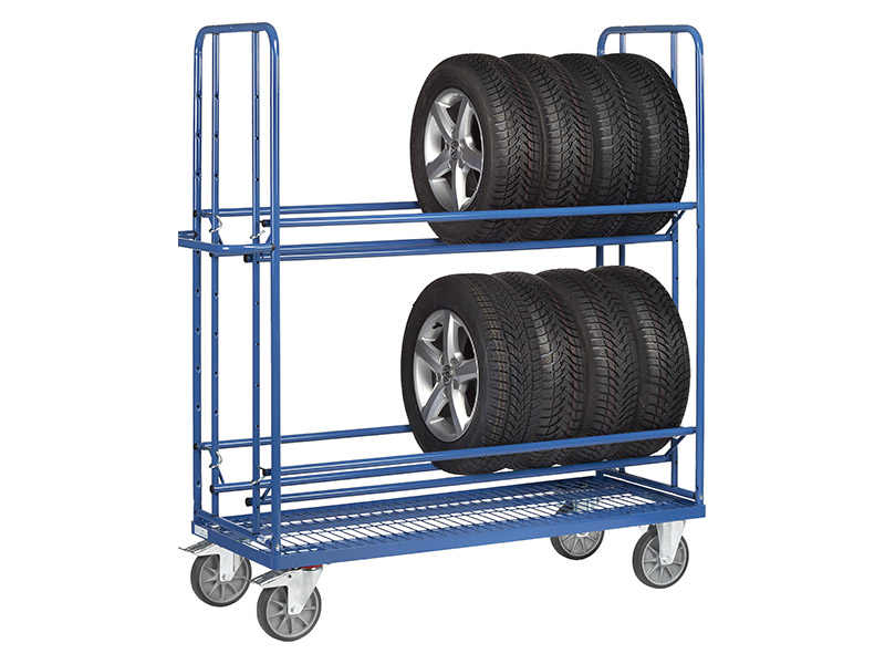Tyre Racking Trolley