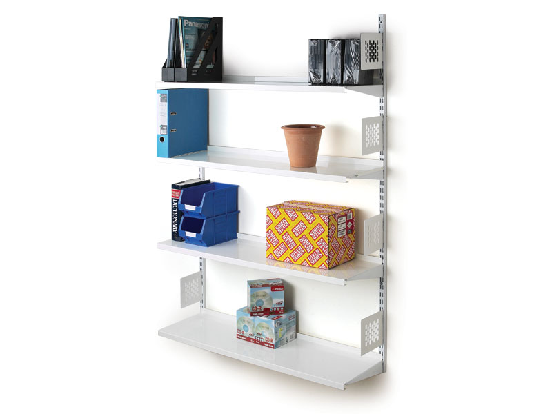Wall Mounted Steel Shelving