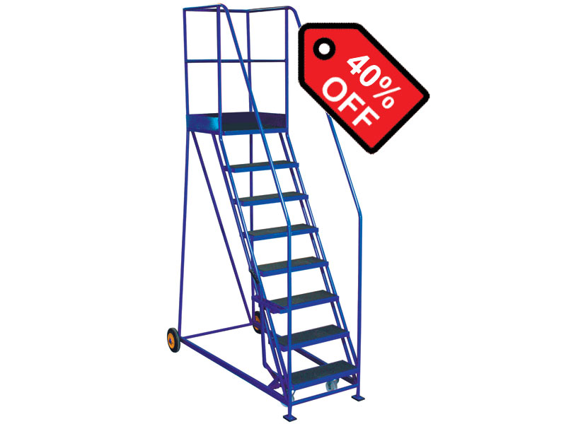 Warehouse mobile safety steps