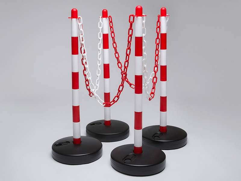 Water Base Red and White 4 Post Plastic Chain Kit