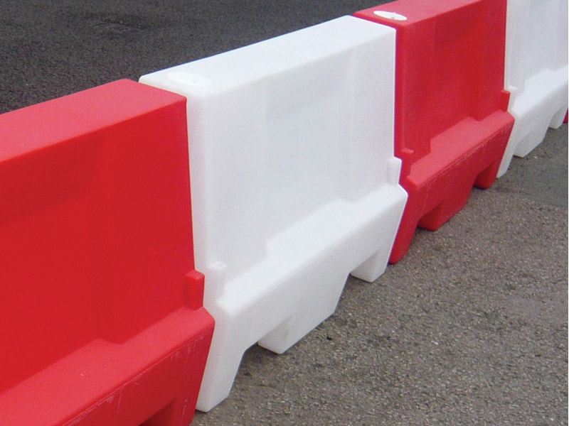 Buy Water or Sand Filled Barrier | Free Delivery Traffic Cone On Road