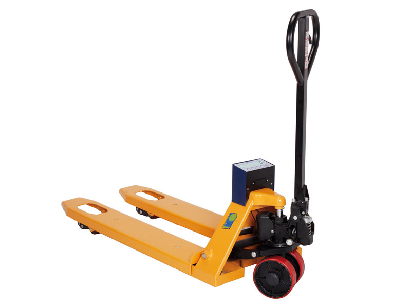 Weigh and Go Pallet Truck