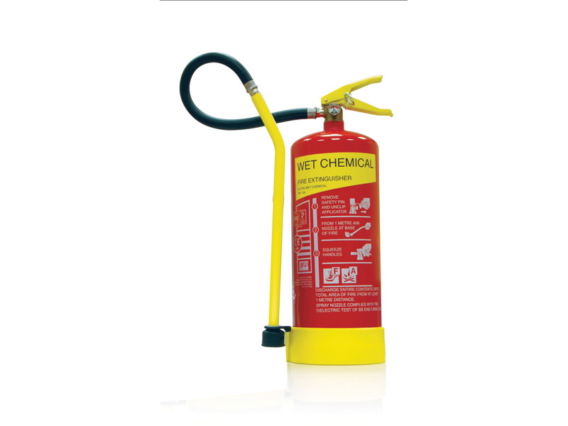 Buy Wet Chemical Fire Extinguishers Free Delivery
