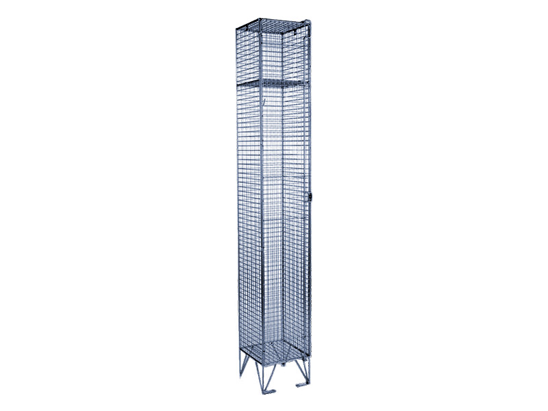 Wire Mesh Clothing Locker
