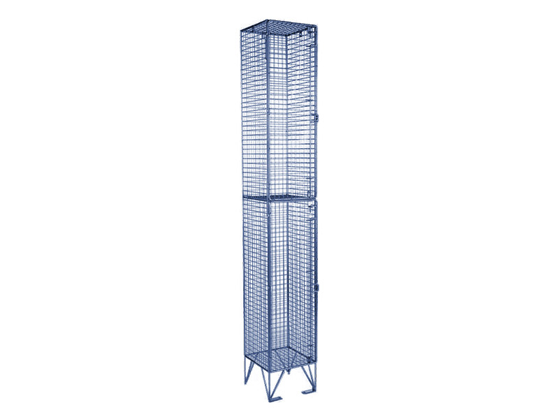 2 Door Economy Mesh Locker