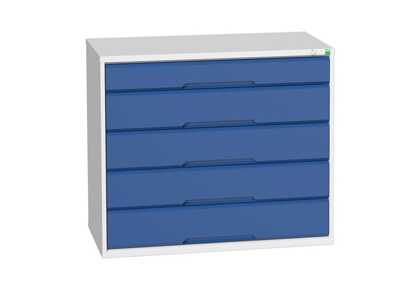 Workshop Cabinet 1050mm Wide with 5 Drawers