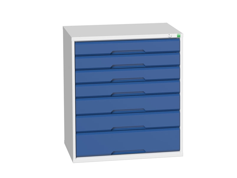 Workshop Cabinet 800mm Wide with 7 Drawers