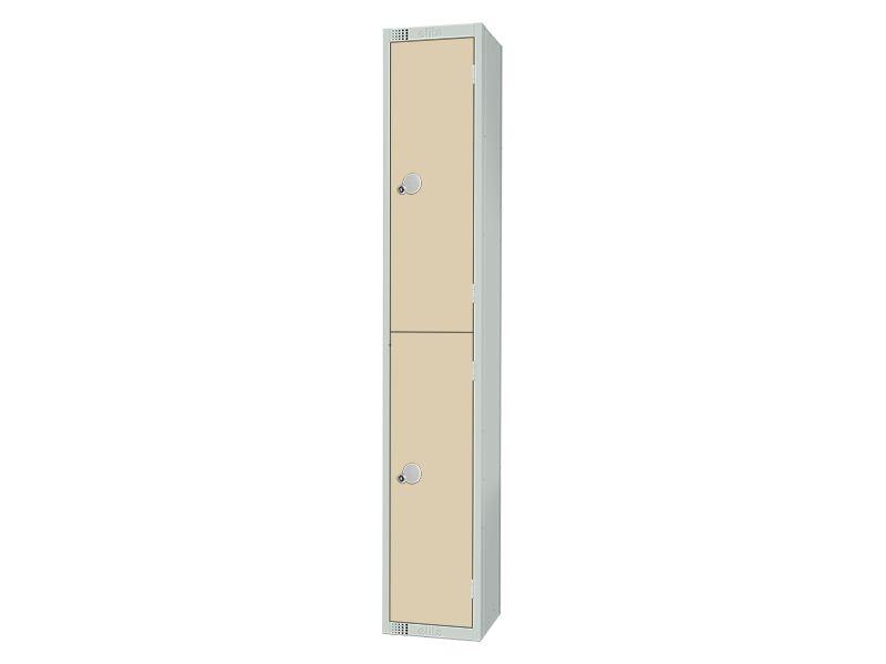 2 Compartment Locker