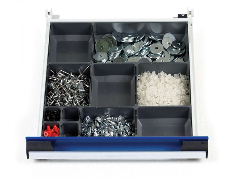 525mm Wide 11 Compartments, Plastic