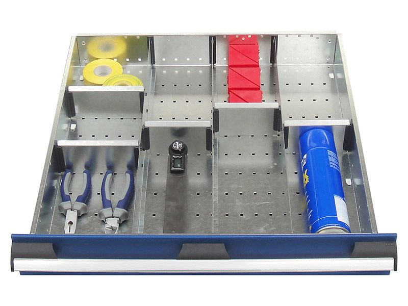 650mm Wide 9 Compartments, Metal