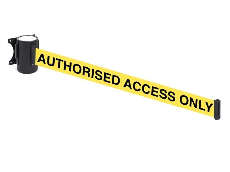 Authorised Access Belt Barrier