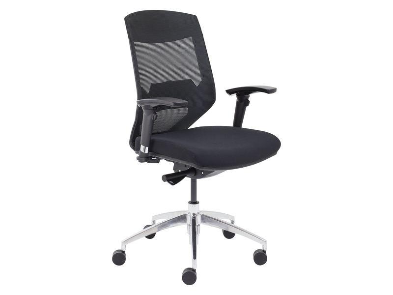 Black High Back Mesh Chair