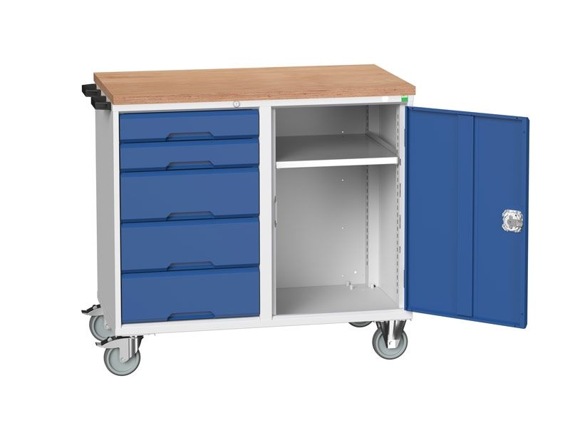 Mobile Workbench with Storage