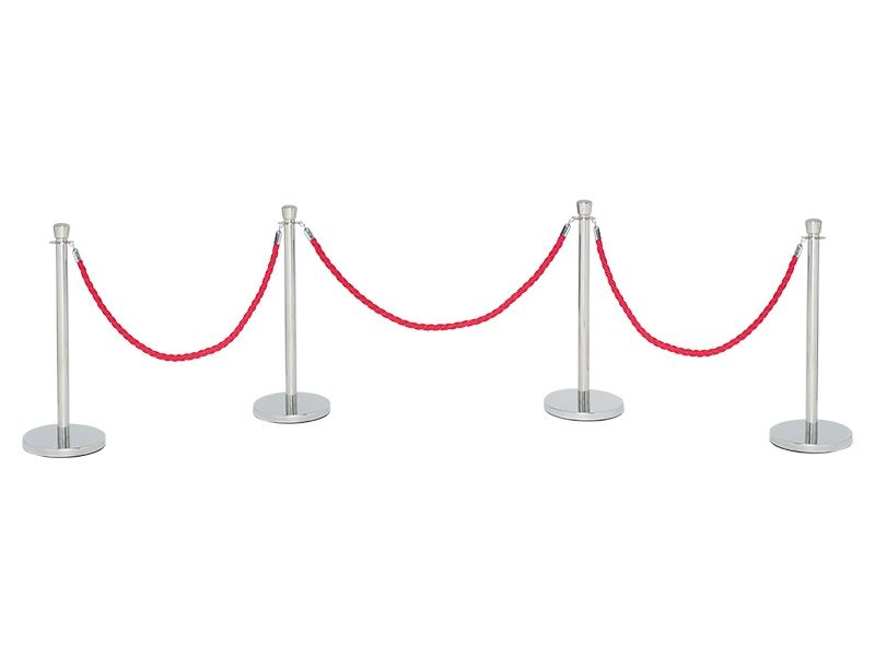 Crowd Control Barrier Posts