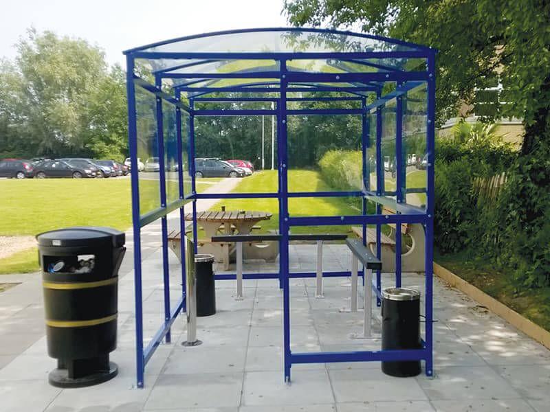 Enclosed Smoking Shelter
