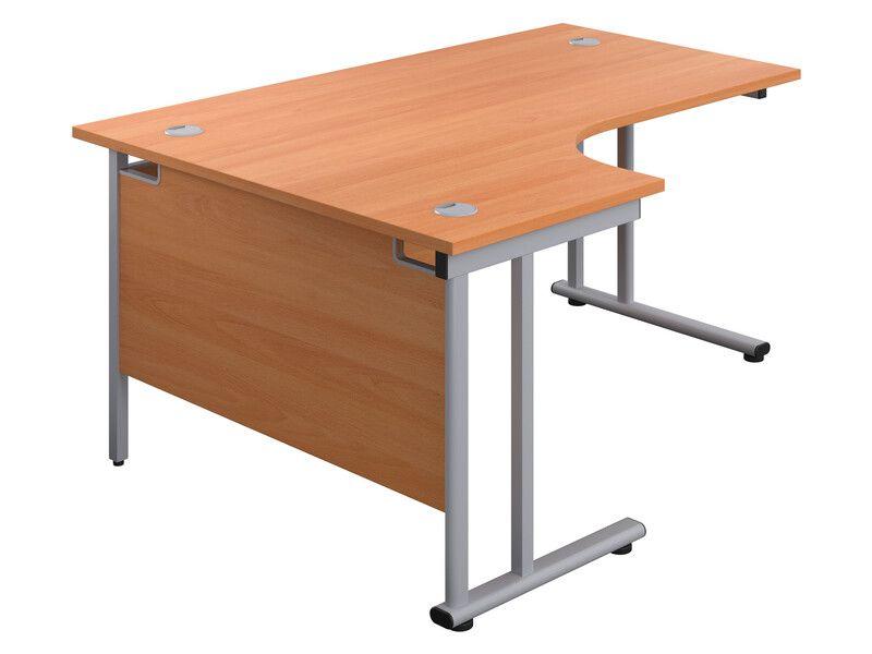 Curved Corner Desk