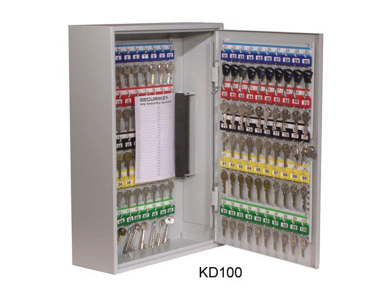 Deep Key Cabinet