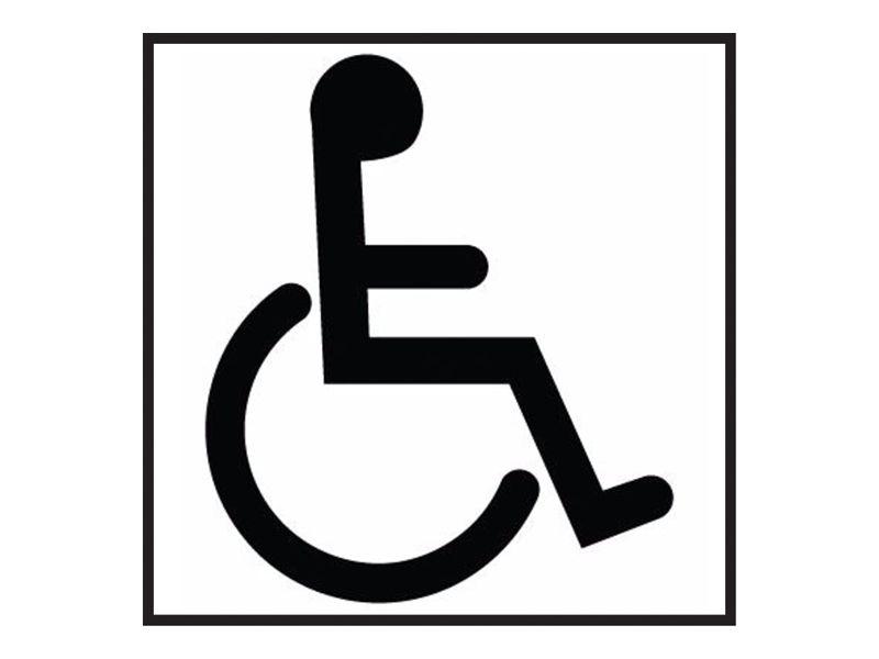 Disabled Washroom Sign