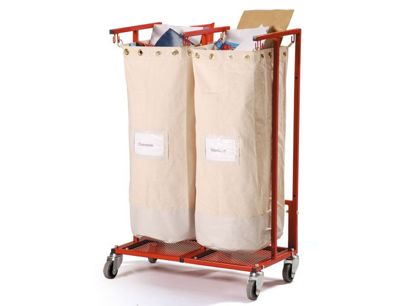 Double Mobile Sack Holder