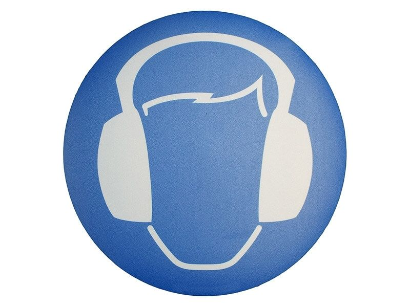 """""""Ear Protection Symbol"""" Floor Graphic Marker"""